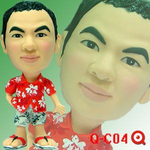 Q-C04-椰林男孩公仔
